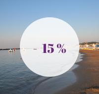 Prenota ora e Risparmia il 15 %